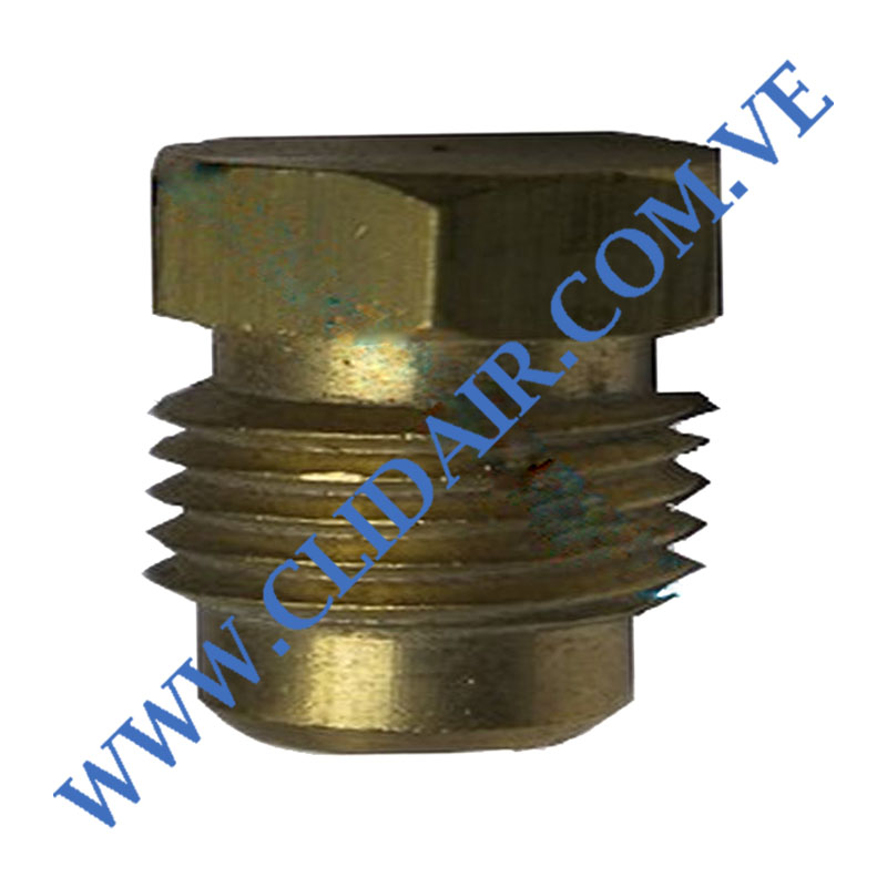 TAPON MACHO BRONCE DE 1/8